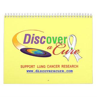Lung Cancer Awareness 12-month Calendar