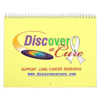 Lung Cancer Awareness 12-month Calendar