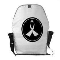 Lung Cancer Awareness Courier Bag