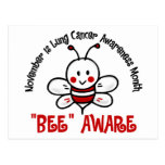 Lung Cancer Awareness Month Bee 1.2 Postcard