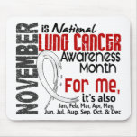 Lung Cancer Awareness Month Every Month For ME Mousepad