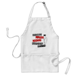 Lung Cancer Awareness Month L1 Apron