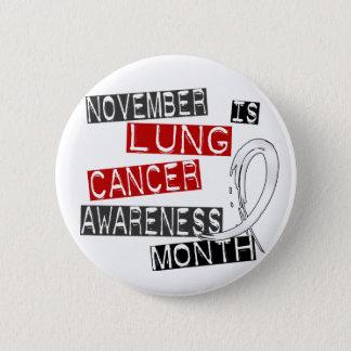 Lung Cancer Awareness Month L1 Button