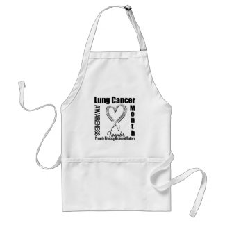 Lung Cancer Awareness Month Matters Aprons