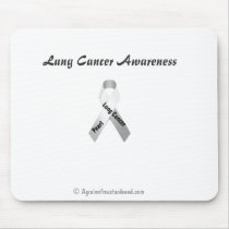 Lung Cancer Awareness Mouse Pad