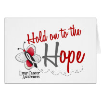 Lung Cancer Butterfly 2 Hold On To The Hope