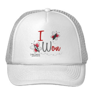Lung Cancer Butterfly 2 I Won Trucker Hat