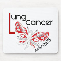 Lung Cancer BUTTERFLY 3.1 Mouse Pad