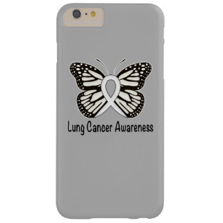 Lung Cancer Butterfly Awareness Ribbon Barely There iPhone 6 Plus Case