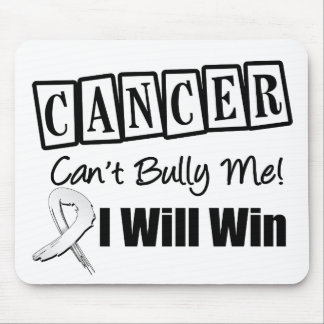 Lung Cancer Cant Bully Me I Will Win Mouse Pad