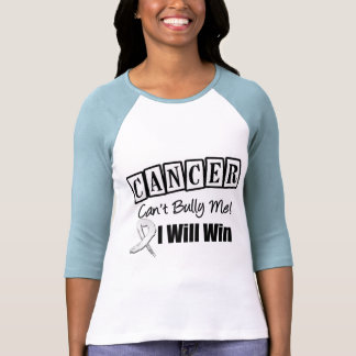 Lung Cancer Cant Bully Me I Will Win T Shirt