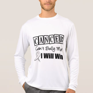 Lung Cancer Cant Bully Me I Will Win T Shirts