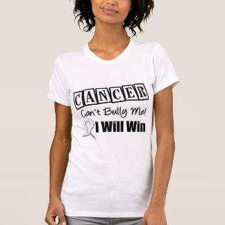 Lung Cancer Cant Bully Me I Will Win Tshirts