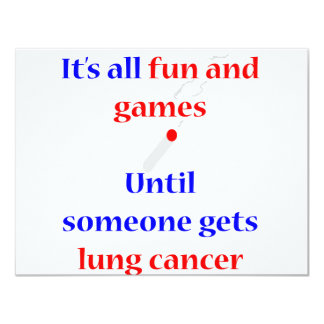 Lung Cancer Card