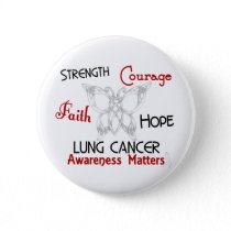 Lung Cancer Celtic Butterfly 3 Button