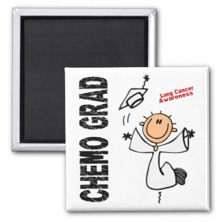 Lung Cancer CHEMO GRAD 1 Magnet