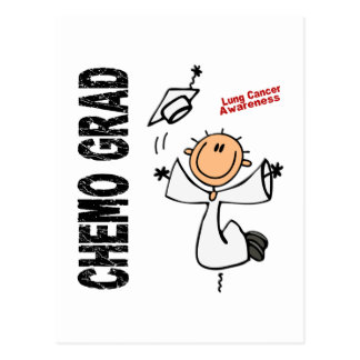 Lung Cancer CHEMO GRAD 1 Postcard