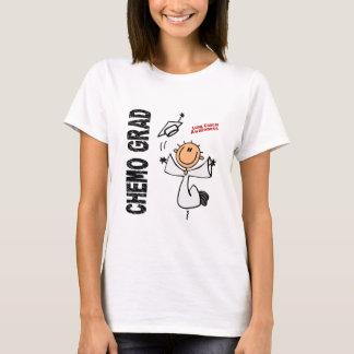 Lung Cancer CHEMO GRAD 1 T-Shirt