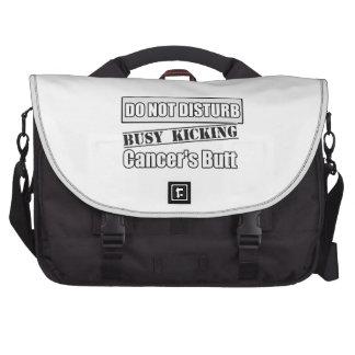 Lung Cancer Do Not Disturb Kicking Butt Bag For Laptop