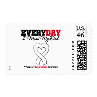 Lung Cancer Every Day I Miss My Dad Postage