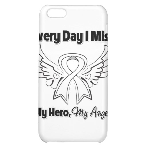 Lung Cancer Every Day I Miss My Hero Cover For iPhone 5C