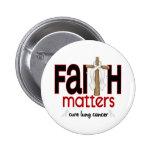 Lung Cancer Faith Matters Cross 1 Button