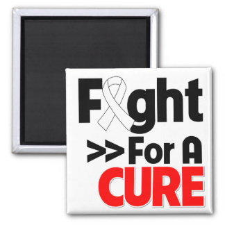 Lung Cancer Fight For a Cure Magnets