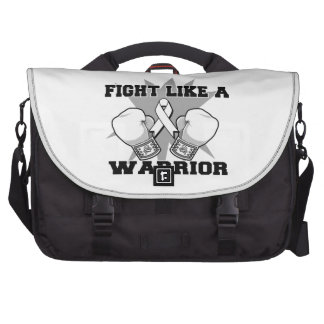 Lung Cancer Fight Like a Warrior Bag For Laptop