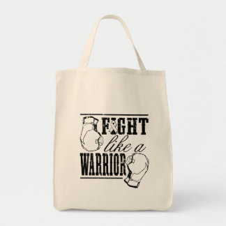 Lung Cancer Fight Like a Warrior Bags