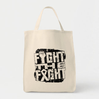 Lung Cancer Fight The Fight Canvas Bags