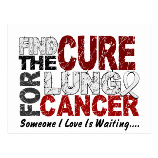 Lung Cancer FIND THE CURE 1 Postcard