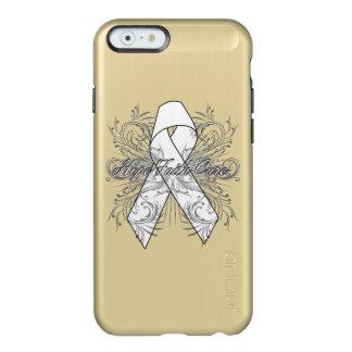 Lung Cancer Flourish Hope Faith Cure Incipio Feather® Shine iPhone 6 Case