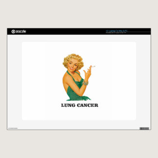 "lung cancer girl 15"" laptop skins"
