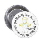 Lung Cancer God Made My Hero An Angel Pin