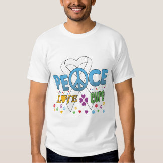 Lung Cancer Groovy Peace Love Cure Shirt