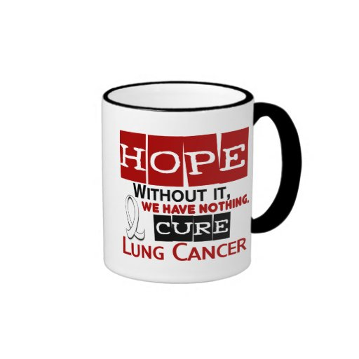 Lung Cancer HOPE 2 Coffee Mug
