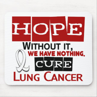 Lung Cancer HOPE 2 Mouse Pad