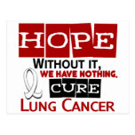 Lung Cancer HOPE 2 Post Cards