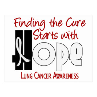 Lung Cancer HOPE 4 Postcard
