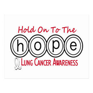 Lung Cancer HOPE 6 Postcard