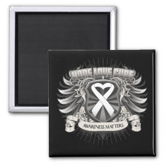 Lung Cancer Hope Love Cure Magnets