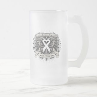 Lung Cancer Hope Love Cure Coffee Mug