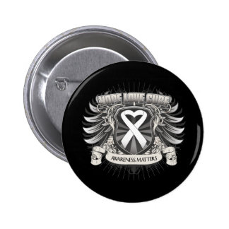 Lung Cancer Hope Love Cure Pin