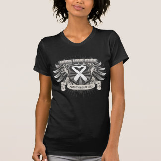 Lung Cancer Hope Love Cure T Shirts