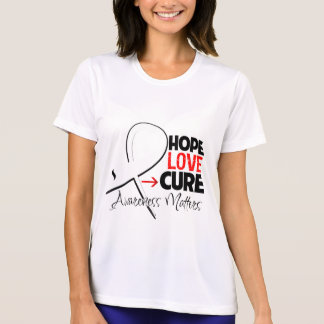 Lung Cancer Hope Love Cure Tee Shirts