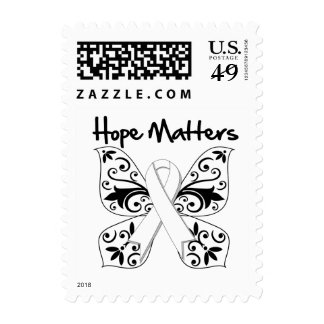 Lung Cancer Hope Matters Stamps