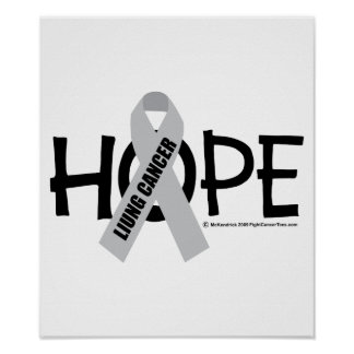Lung Cancer Hope Poster