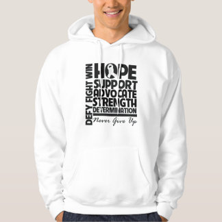 Lung Cancer Hope Support Advocate Hoodie