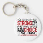 Lung Cancer How Strong We Are Key Chains