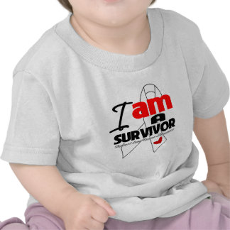 Lung Cancer - I am a Survivor Tee Shirts